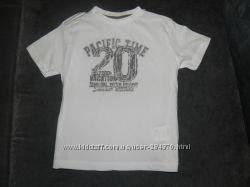 Прикольные футболки  VERTBAUDET и la Redoute Франция  р. 98-104.