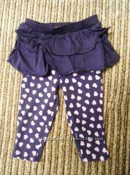 Стильные штанишки-юбочки, легинсы, джинсики на девочку. Швеция