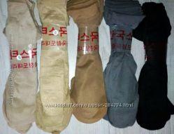 женские капроновые  носки 23-25р. ассорти