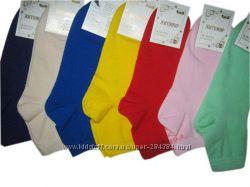 однотонные качественные  женские носки 23-25р. Житомир
