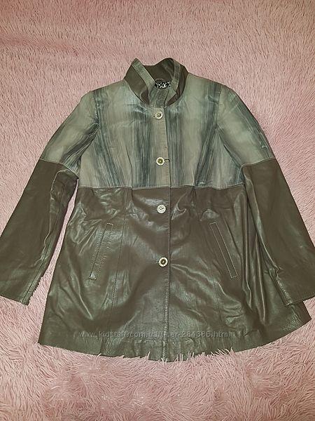 Кожаная куртка 58-60р