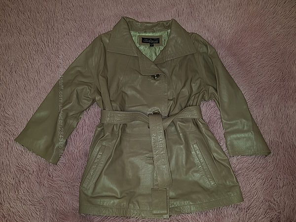 Кожаная куртка 54 р