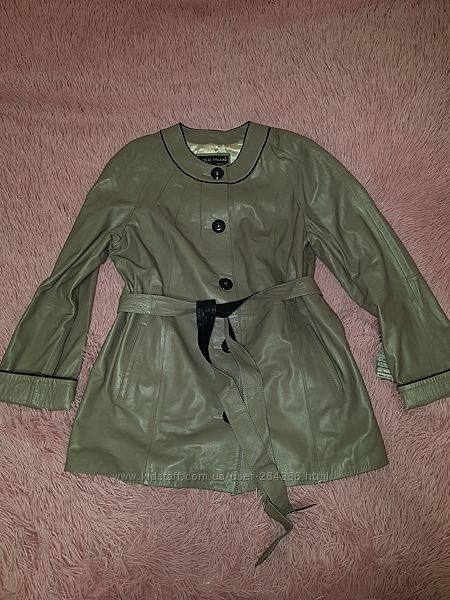 Кожаная куртка 50р 48