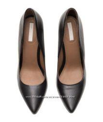 Модные туфли из натуральной кожи НМ