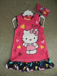 Сарафан с повязкой Minipiti Hello Kitty, р. 1, 2, 3, 4