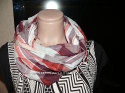 Легкий хлопковый шарф