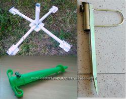 Подставка держатель бур крестовина для пляжного зонта