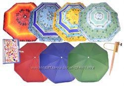 Пляжные зонты с серебристым напылением по отличной цене