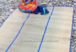 Пляжный коврик большой Соломка на фольге по доступной цене