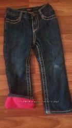теплые джинсы на флиссе gap 3 t