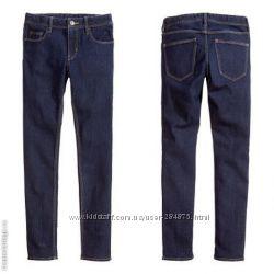 узкие джинсы  на девочку, H&M девушку, размер 158 и 170 бренд H&M
