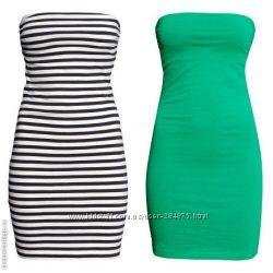 Красивые летние  платья, размер ХС и С, бренд H&M