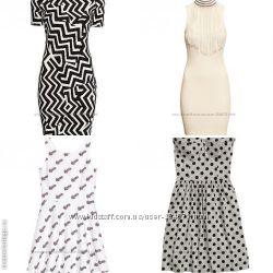 Красивые летние платья, размер 34, 36, 38 бренд H&M