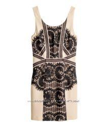 Нарядные платья, с кружевом, бренд H&M, размер ХС и С, 40р