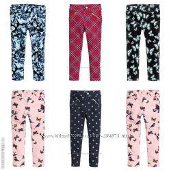Трегинсы брюки штаны на девочек, размеры 116, 128, 134, 140, бренд H&M