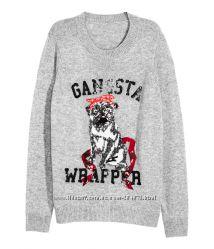 Стильные тёплые свитера H&M, разм. ХС и С