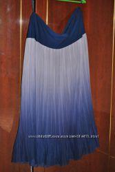 Красивые юбки, длина миди, размер ХЛ