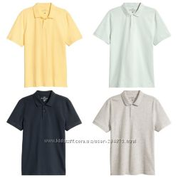 Мужские футболки тенниски -поло, бренд H&M, размер М, Л