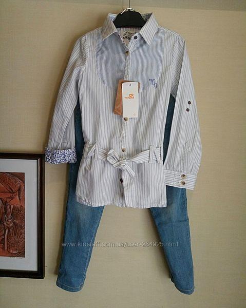 Крутейшая рубашка - туника,  Mayoral,  р 122