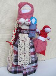 Лялька-мотанка, традиционная.