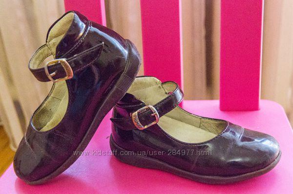 Туфли Primigi цвета гнилой вишни
