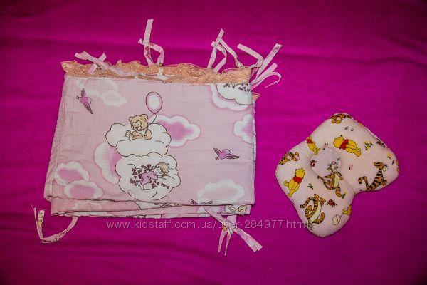 Защита на кроватку, подушечка для новорождённых