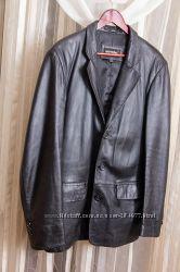 Кожаный пиджак