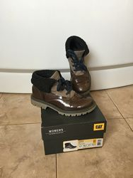 Стильные утеплённые ботинки Caterpillar casual 22, 5 см