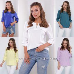 Блузки и рубашки для женщин от 42 до 52 размера