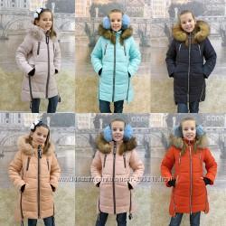 Зимние детские куртки с 28 до 42-го размера