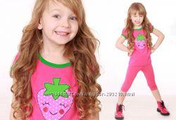 Яркие футболочки для девочек по доступной цене