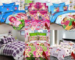 Детские 1, 5-спальные постельные комплекты для девочек в ассортименте
