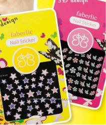 Стикеры для ногтей  3D design nail sticker