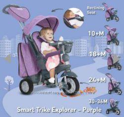 НовинкаДетский трехколесный велосипед Smart trike explorer 5 в 1