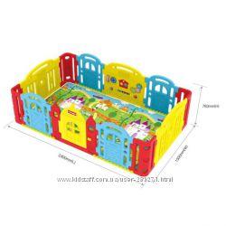 Детский манеж-ограждение Замок Dwinguler Castle 2400x1500x783 мм