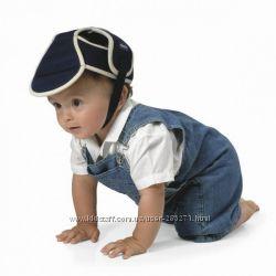 Детский защитный шлем Bumper bonnet синий Chicco