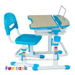 Растущие парты со стульчиками Fun Desk