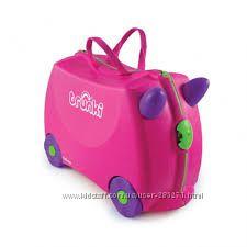 Детские дорожные чемоданчики Trunki оригинал Бесплатная доставка