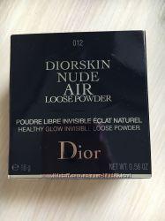 Dior Diorskin Nude Air рассыпчатая пудра тональная основа для макияжа