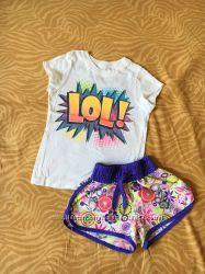 Фирменые комплекты одежды на девочку 3-4 года.