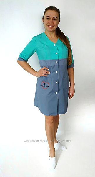 Медицинский халат и костюм . Разные цвета