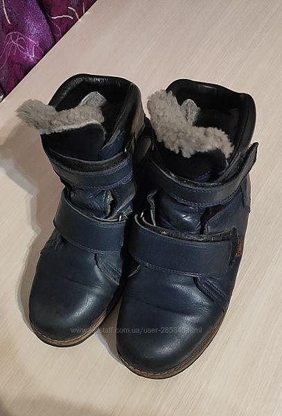 Ботинки зимние Ortopedic на цигейке. 36 размер