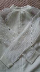 Нарядна біла блуза