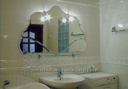 Дизайнерские зеркала, мебель из стекла под любой интерьер, под ваш заказ