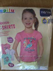 Набор футболок 3 шт, Германия,  р. 116, 122