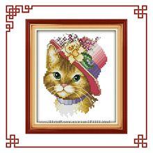 Наборы для вышивания котов