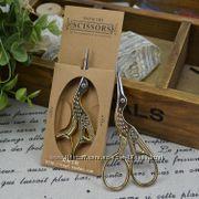 Цапельки и ретро ножницы для рукоделия