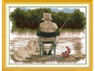 Наборы для вышивания крестиком - Охота и рыбалка