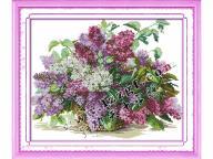 Наборы для вышивания крестиком Цветы . Огромный выбор