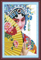 Наборы для вышивания -Китаянки